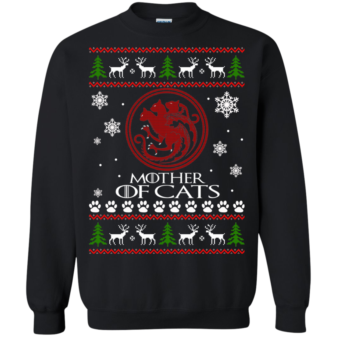 Game Of Thrones – Mother Of Cats Christmas Ugly Sweater