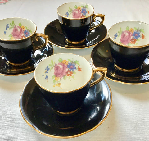 vintage coffee cups