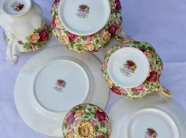 Roll-on vintage china