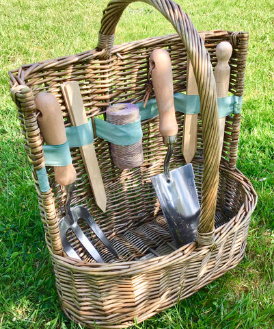 Antique wash gardener's basket