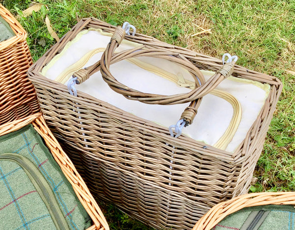 Rectangular willow Chiller Basket