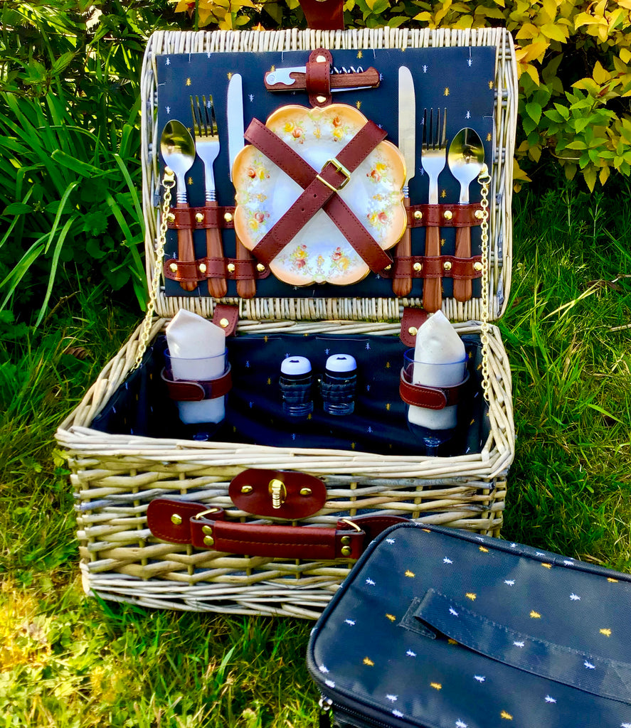 The Botanist fitted picnic hamper for 2