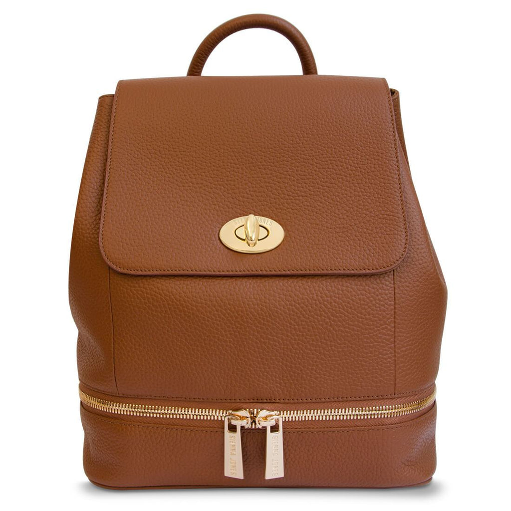 Classic Leather <BR/> Brown Backpack