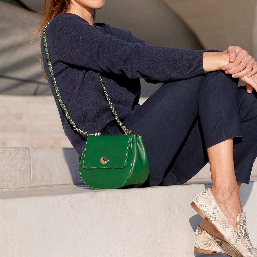 The Cross Body Bag - Green