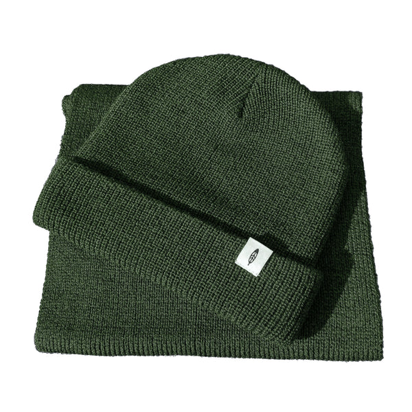 Green Hat & Scarf Set