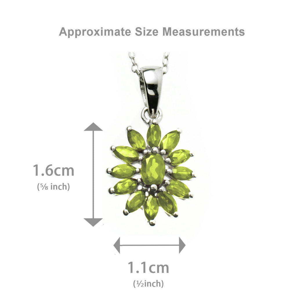 Peridot Marquise <BR/>Pendant