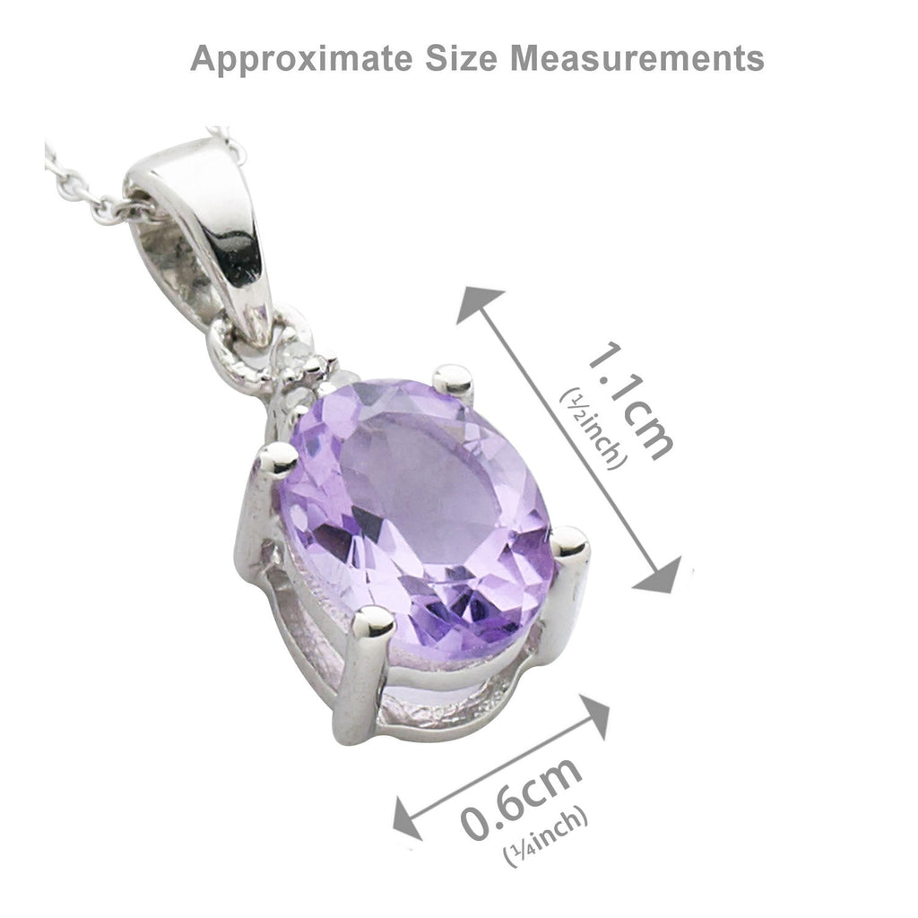 Pink Amethyst and <BR/>Diamond Set