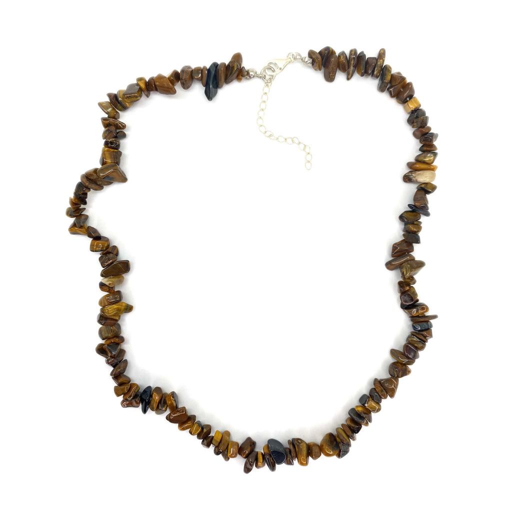 Tigers Eye Chip <br/>Necklace