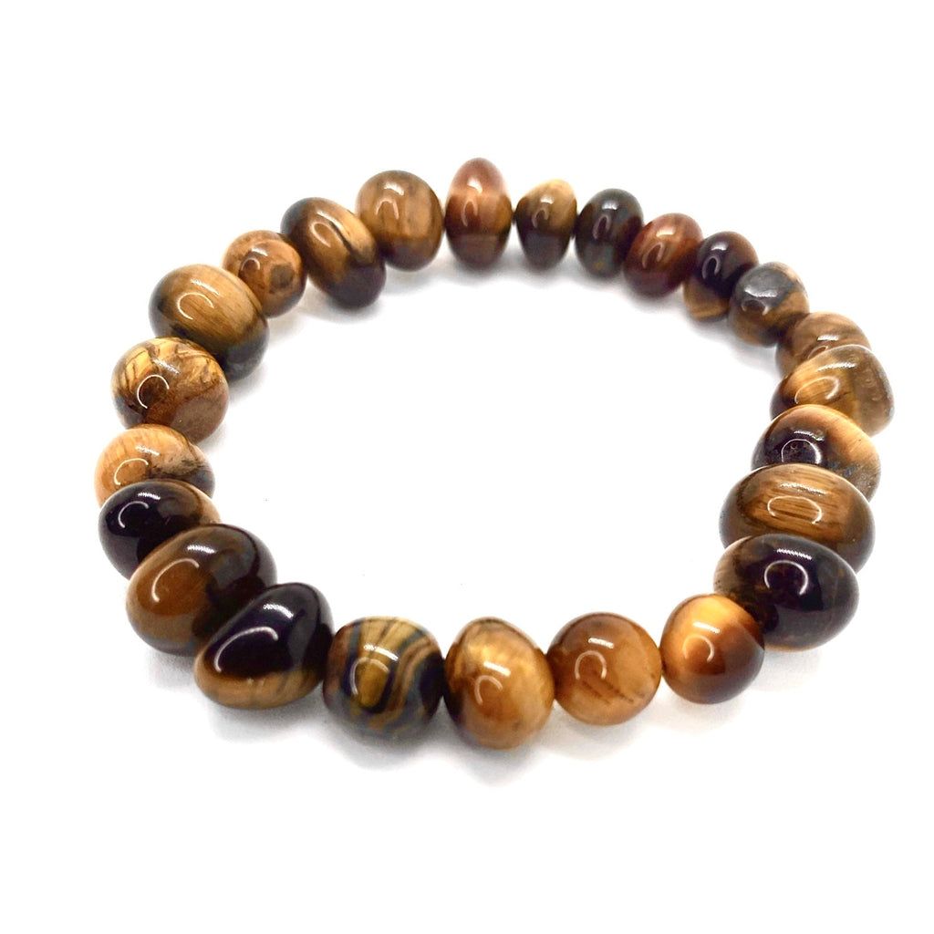 Tigers Eye Round <br/>Bead Bracelet