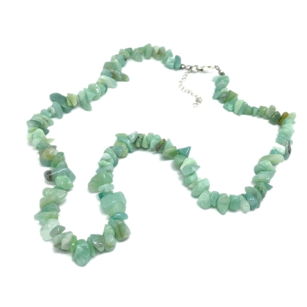 Amazonite Chip </BR>Necklace