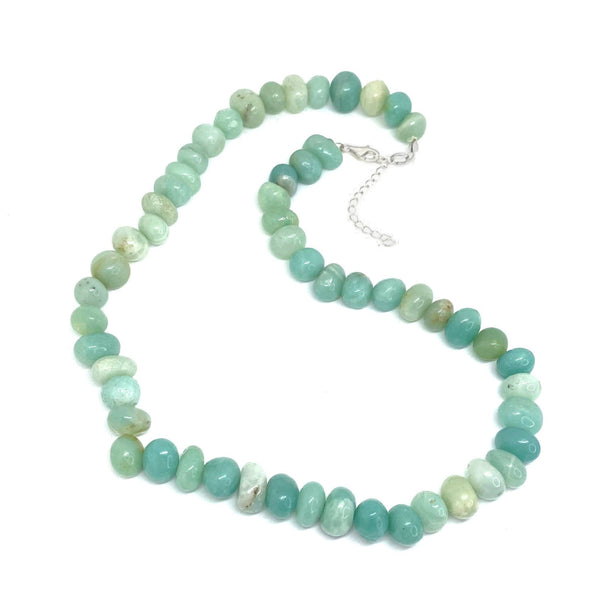 Amazonite Bead </BR>Necklace