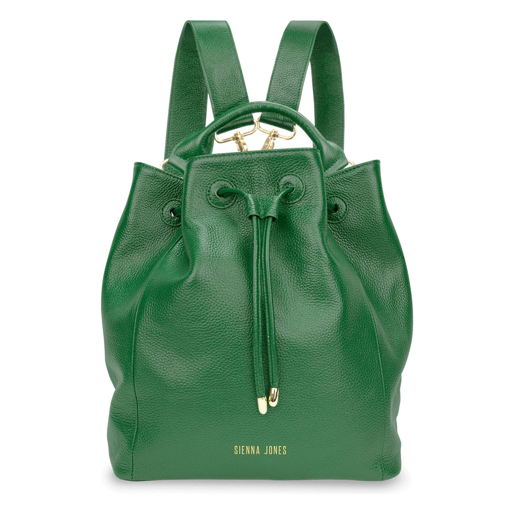 Primrose Hill<BR/> Green Bucket Bag