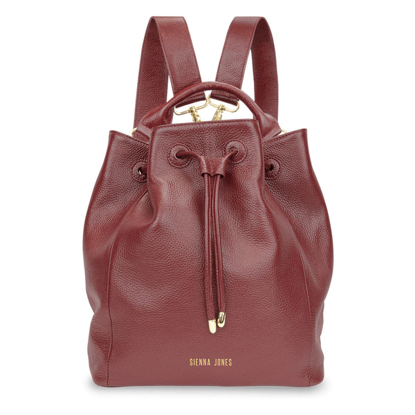 Primrose Hill<BR/> Red Bucket Bag