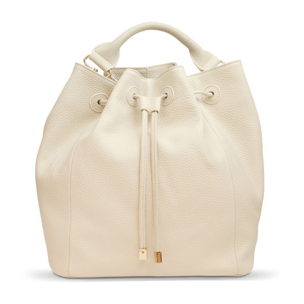 Primrose Hill<BR/> Beige Bucket Bag