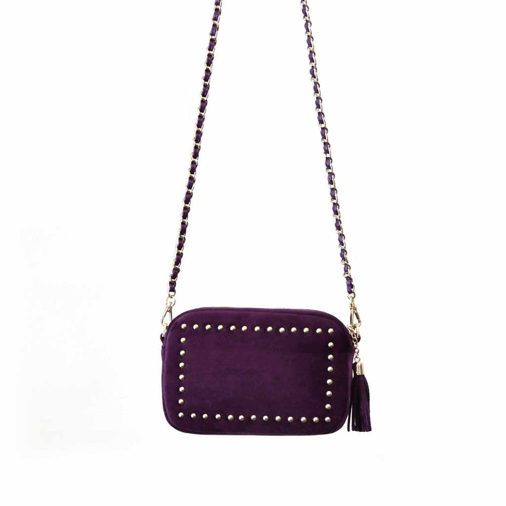 Sophie Standbury Aubergine<BR/>Cross Body Handbag