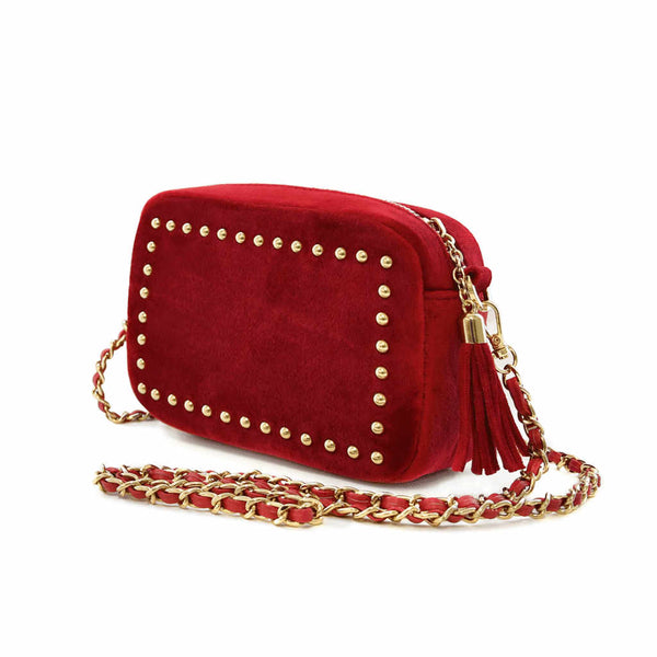 Sophie Standbury Red <BR/>Cross Body Handbag