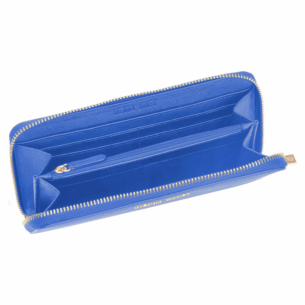 Zip Around Purse - Blue