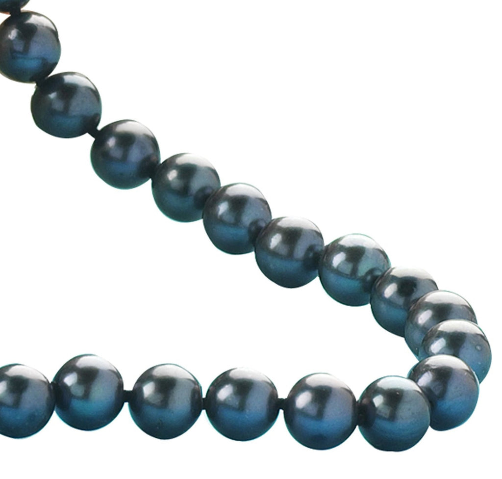 Black Cultured Pearl<BR/> Necklace