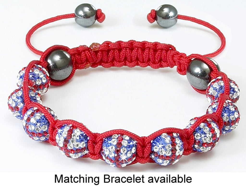 Union Jack Crystal <BR/>Bracelet