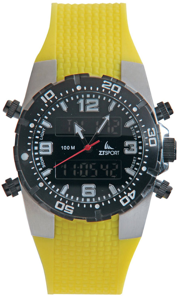 Yellow Sports Watch