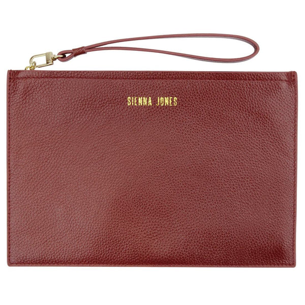 The Classic Pouch - Red