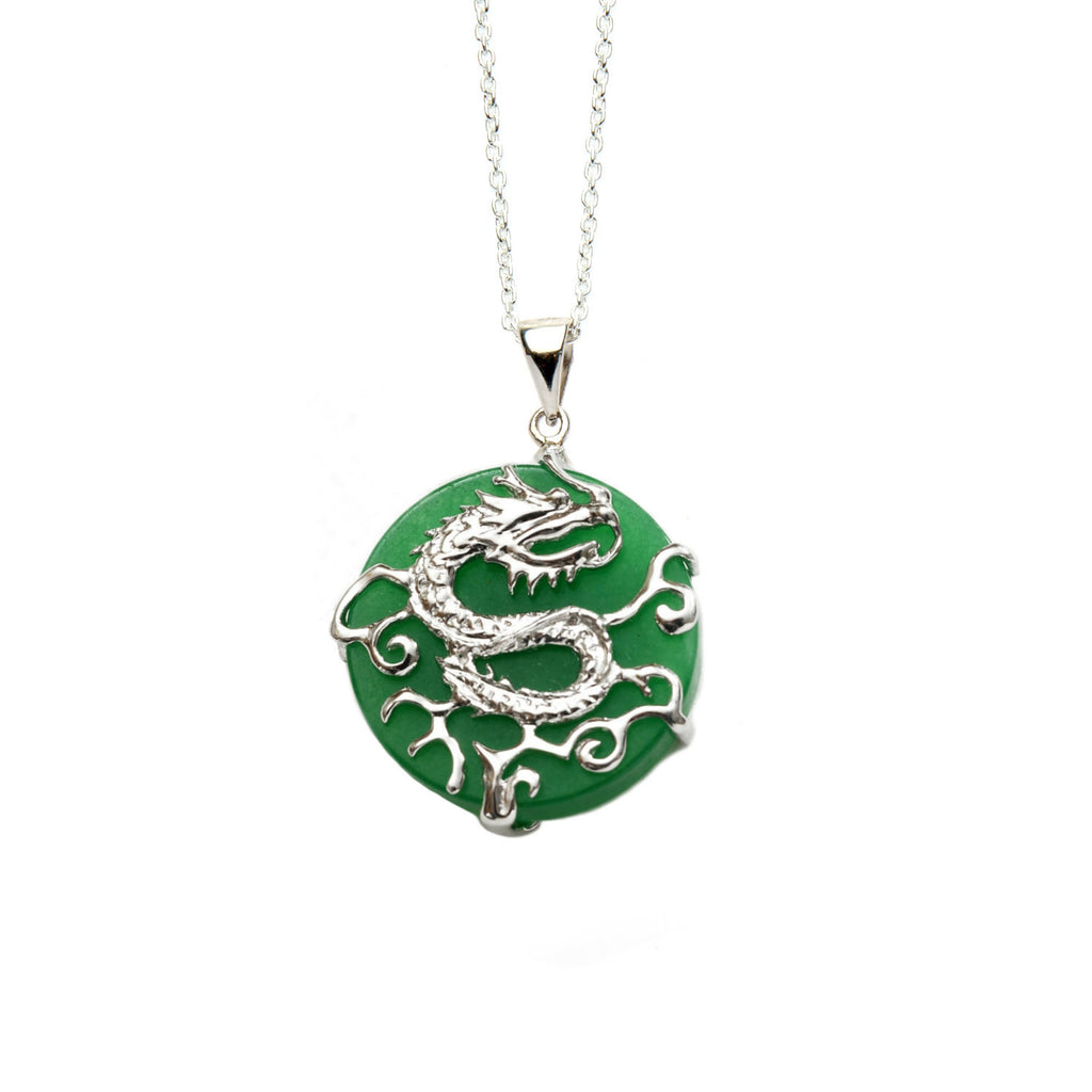 Jade Dragon Pendant