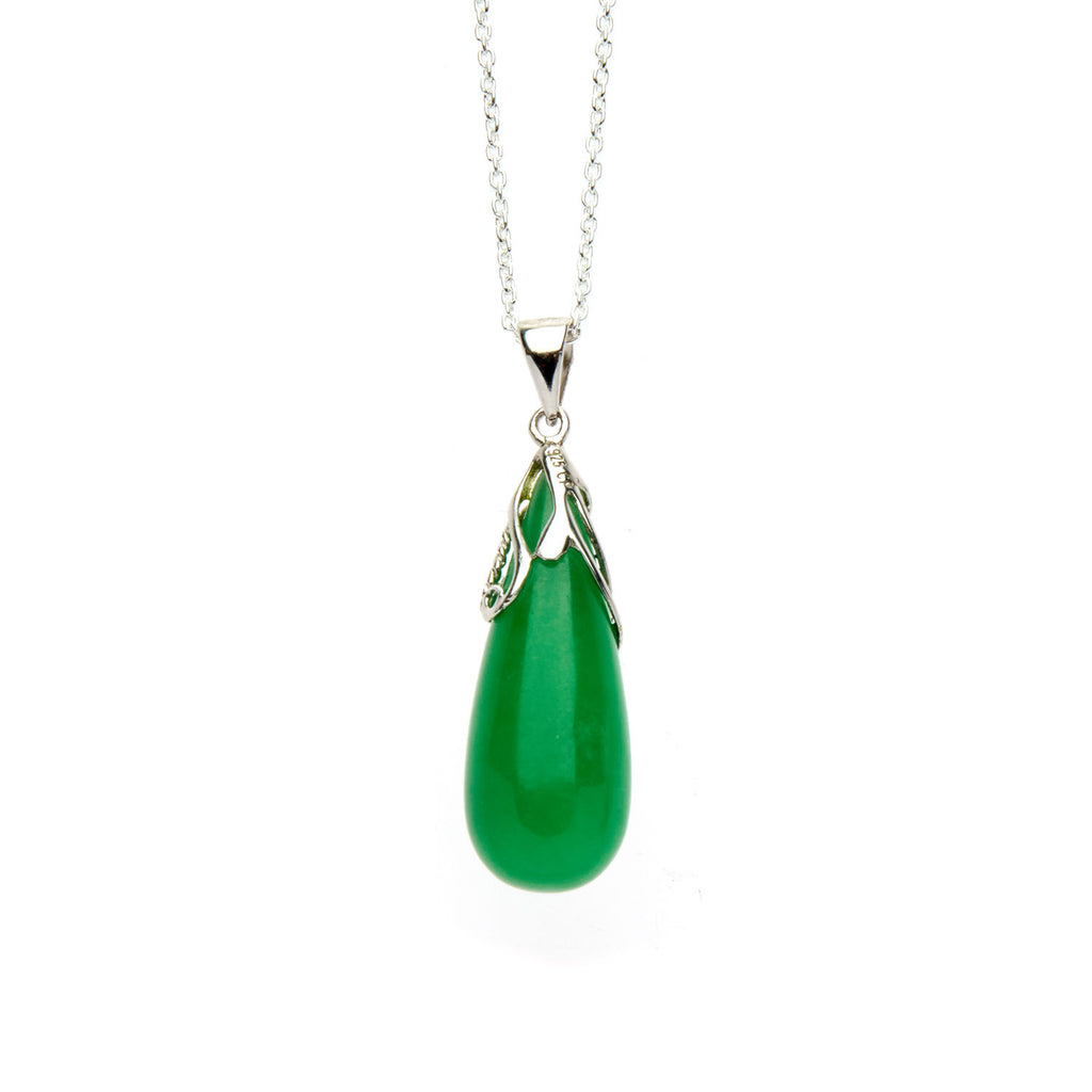 Jade Drop Pendant