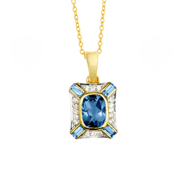 London Blue Topaz <BR/> Pendant