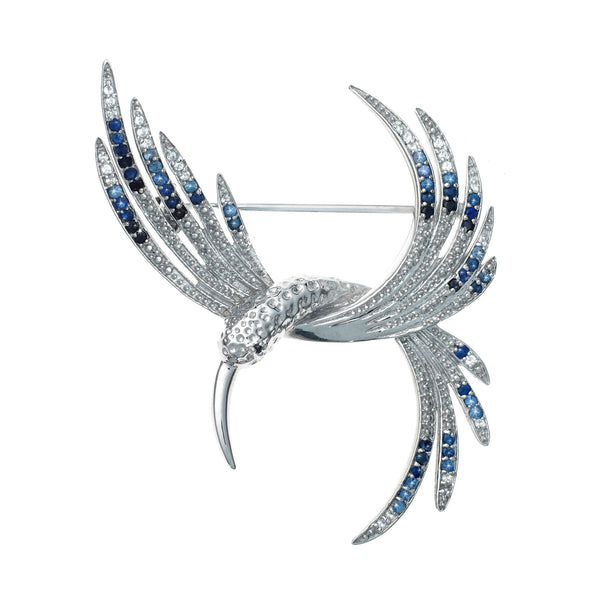 Magnificent Hummingbird<br/>Brooch