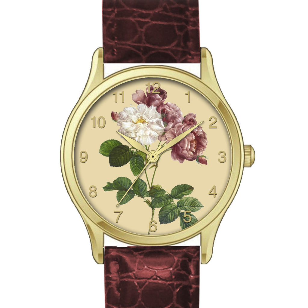 Floral Watch Bourbon Roses