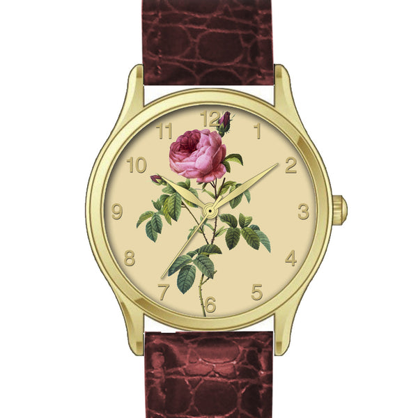 Floral Watch Cerise Rose