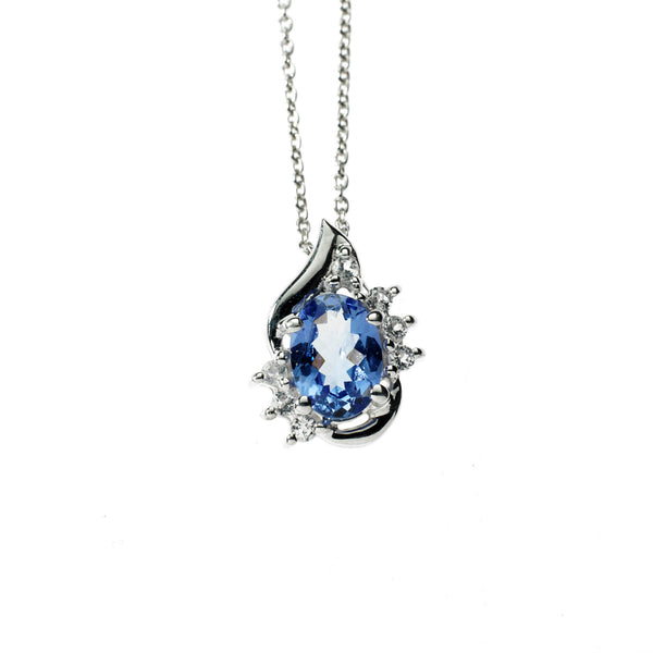 Tanzanite and Topaz <BR/>Pendant