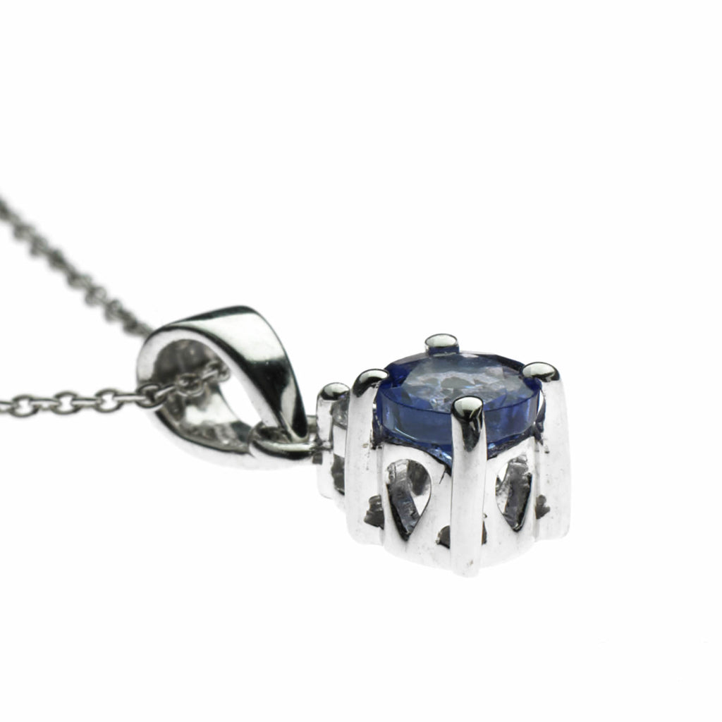 Tanzanite Necklace<BR/> and Earrings Set