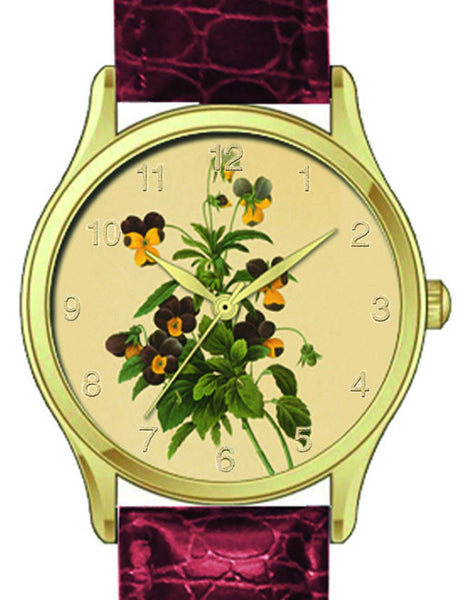 Floral Watch Violas