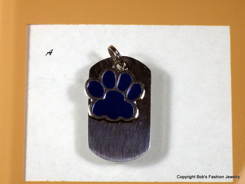 Color Paw Print Pet Tag - Bestwire Jewelry