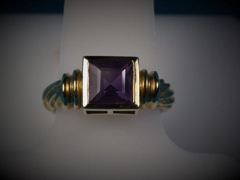 Amethyst 14kt Gold Ring - Bestwire Jewelry