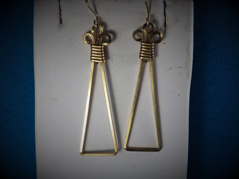14kt Gold Filled Pendant Earrings - Bestwire Jewelry