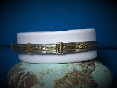14 kt Gold Filled & Sterling Silver Bracelet - Bestwire Jewelry