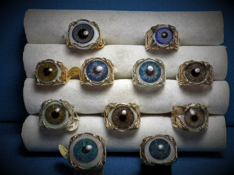 Prosthetic Eye Ball Rings - Bestwire Jewelry