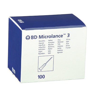 "BD Microlance 19G X 1 1/2"" (1,1 x 40) - ivoor (100 st)"
