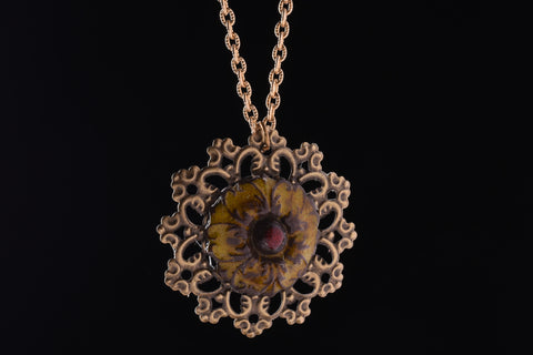 Aura's Hand Made Jupiter Love Pendant Necklace