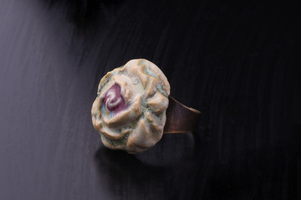 Aura's Hand Made Rose Ring