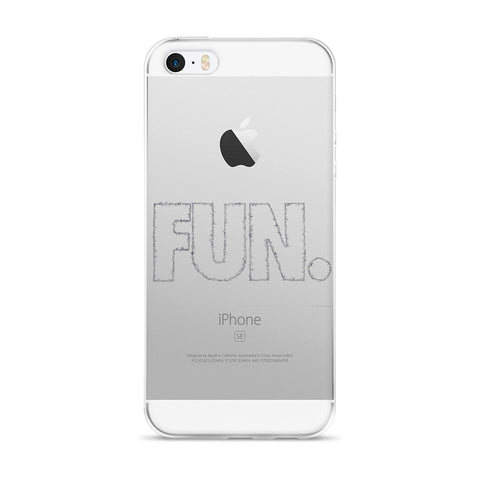 FUN for iPhone 5/5s/Se, 6/6s, 6/6s Plus Case