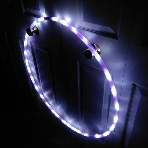 Synergy Purple LED Light Up Hula Hoop