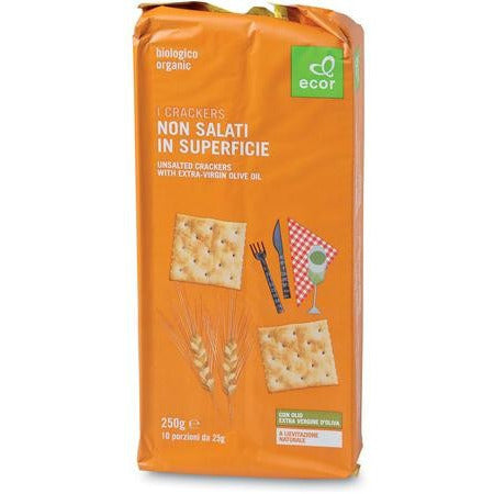 Crackers non salati in superficie g 250
