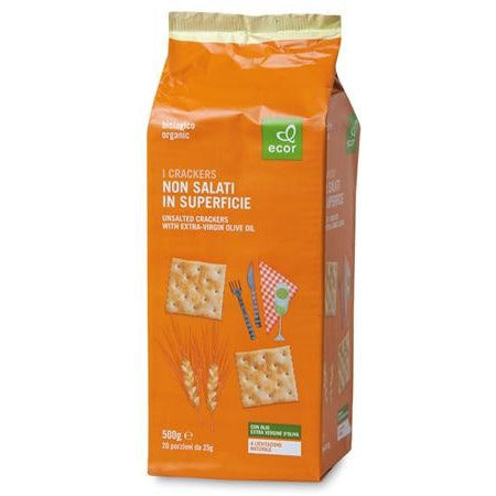 Crackers non salati in superficie g 500
