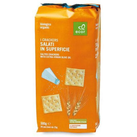 Crackers salati in superficie g 500