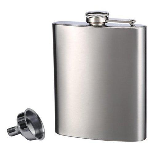 Personalized Stainless Steel Flask & Funnel Set