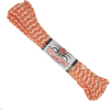 Spider Cord 600 Lb Paracord 100 Ft - Orange And White Design