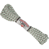 Spider Cord 600 Lb Paracord 100 Ft - Green, Maroon And White Design